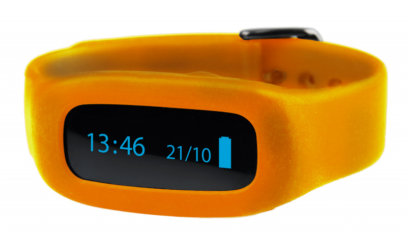 ViFit connect | Ersatz-Armband Orange