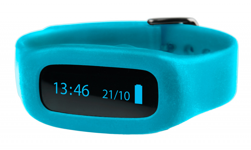 ViFit connect   Ersatz-Armband Hellblau
