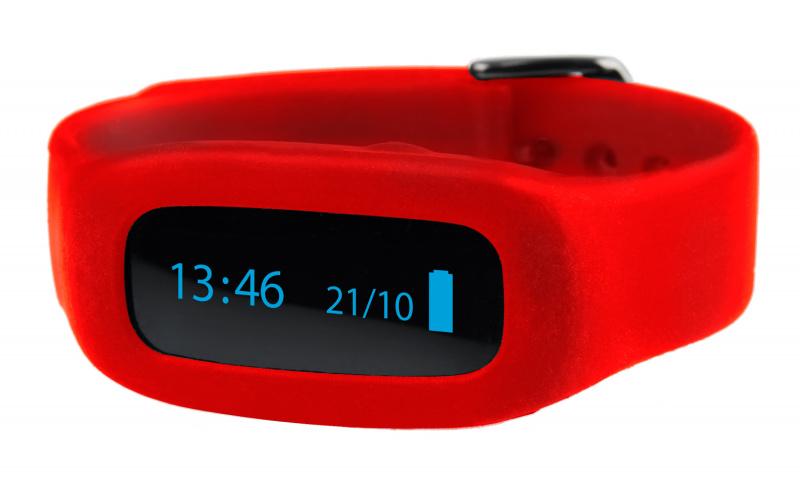 ViFit connect | Ersatz-Armband Rot