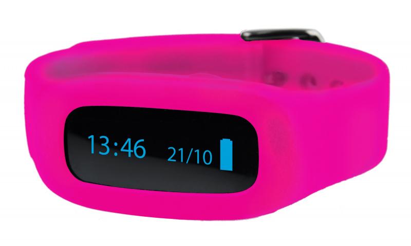 ViFit connect | Ersatz-Armband Pink