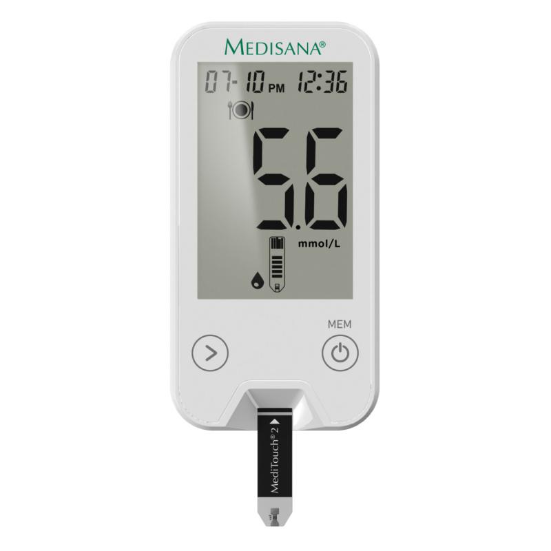 MediTouch 2 mmol/L   Blutzuckermessgerät inkl. Starterset
