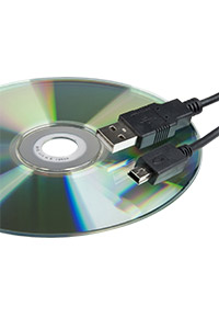 MTX   Blutdruck-Analyse-Software und USB-Kabel